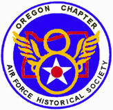Oregon Chapter 8th AFHS Logo Patch